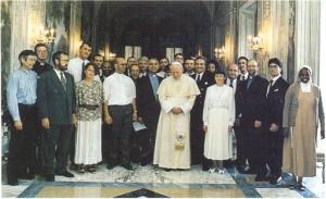 Foto con Papa 95 copia