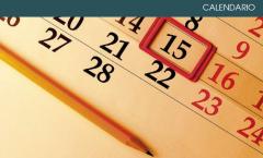 Calendario corsi gennaio-maggio 2018